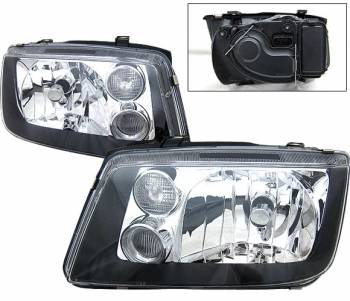 Headlights & Tail Lights - Headlights - 4CarOption - Toyota 4 Runner 4CarOption Headlights - LH-T4R03BC-KS