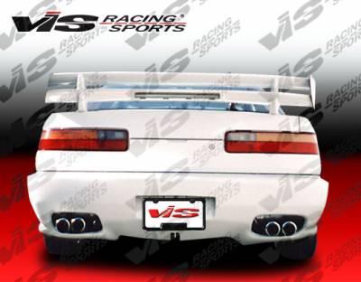 Integra 2Dr - Rear Bumper - VIS Racing - Acura Integra 2DR VIS Racing Kombat Type 1 Rear Bumper - 90ACINT2DKOM1-002