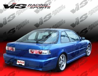 Integra 2Dr - Rear Bumper - VIS Racing - Acura Integra 2DR VIS Racing Techno R Rear Lip - 90ACINT2DTNR-012