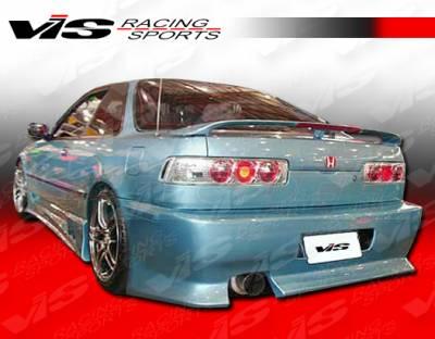 Integra 2Dr - Rear Bumper - VIS Racing - Acura Integra 2DR VIS Racing V Speed Rear Bumper - 90ACINT2DVSP-002