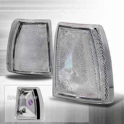 Headlights & Tail Lights - Corner Lights - Custom Disco - Ford Explorer Custom Disco Clear Corner Lights - LC-EPOR91-KS