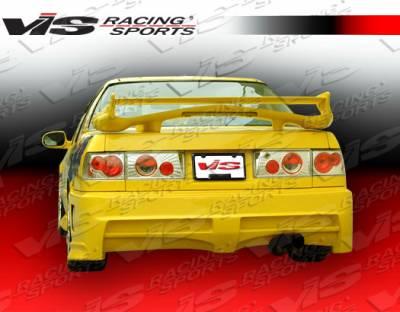 Accord 2Dr - Rear Bumper - VIS Racing - Honda Accord 2DR & 4DR VIS Racing Xtreme Rear Bumper - 90HDACC2DEX-002