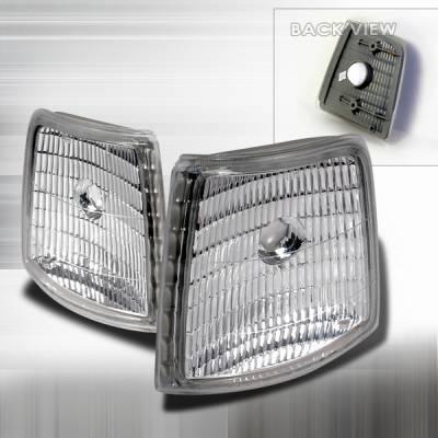 Headlights & Tail Lights - Corner Lights - Custom Disco - Ford F250 Custom Disco Corner Lights - LC-F15092-DP
