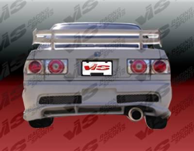 Accord 2Dr - Rear Bumper - VIS Racing - Honda Accord 2DR & 4DR VIS Racing Kombat Rear Bumper - 90HDACC2DKOM-002