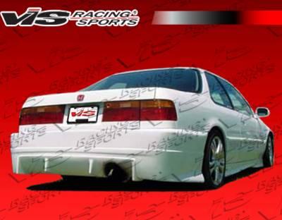 Accord 2Dr - Rear Bumper - VIS Racing - Honda Accord 2DR & 4DR VIS Racing TSC Rear Bumper - 90HDACC2DTSC-002