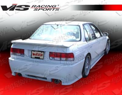 Accord 2Dr - Rear Bumper - VIS Racing - Honda Accord 2DR & 4DR VIS Racing Z1 boxer Rear Bumper - 90HDACC2DZ1-002
