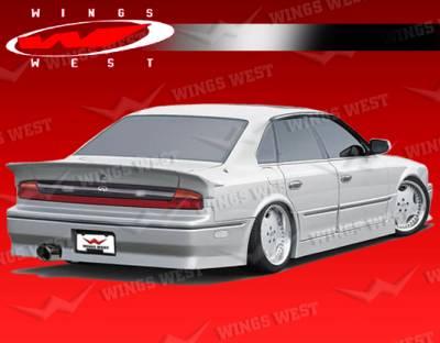 Q45 - Rear Bumper - VIS Racing - Infiniti Q45 VIS Racing JPC Rear Bumper - 90INQ454DJCP-002