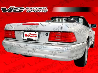 SL - Rear Bumper - VIS Racing - Mercedes-Benz SL VIS Racing Euro Tech-2 Rear Bumper - 90MER1292DET2-002