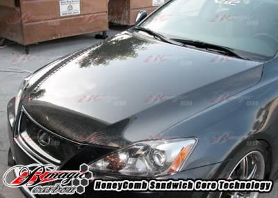 AIT Racing - Lexus IS AIT Racing OEM Style Hood - LIS06BMCFH - Image 2