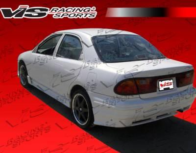 Protege - Rear Bumper - VIS Racing - Mazda Protege VIS Racing Techno R Rear Bumper - 90MZ3234DTNR-002