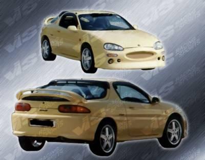 MX3 - Rear Bumper - VIS Racing - Mazda MX3 VIS Racing Magnum Rear Bumper - 90MZMX32DMAG-002