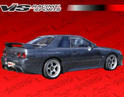 Skyline - Rear Bumper - VIS Racing - Nissan Skyline VIS Racing Demon Rear Bumper - 90NSR32GTRDEM-002