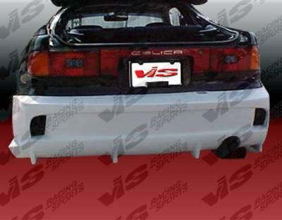 Celica - Rear Bumper - VIS Racing - Toyota Celica VIS Racing Invader-2 Rear Bumper - 90TYCEL2DINV2-002