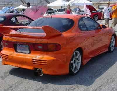 Celica - Rear Bumper - VIS Racing - Toyota Celica VIS Racing Invader Rear Bumper - 90TYCELHBINV-002