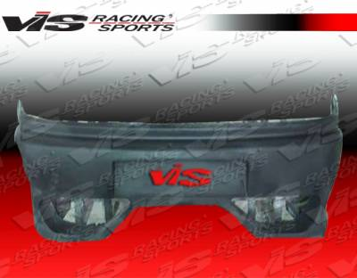 MR2 - Rear Bumper - VIS Racing. - Toyota MR2 VIS Racing Enzo Rear Bumper - 90TYMR22DENZ-002
