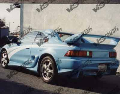 MR2 - Rear Bumper - VIS Racing - Toyota MR2 VIS Racing Invader Rear Bumper - 90TYMR22DINV-002