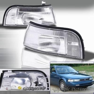 Headlights & Tail Lights - Corner Lights - Custom Disco - Nissan Maxima Custom Disco Corner Lights - LC-MAX89-KS
