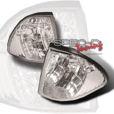 Headlights & Tail Lights - Corner Lights - Custom Disco - Ford Mustang Custom Disco Corner Lights - LC-MST87-KS