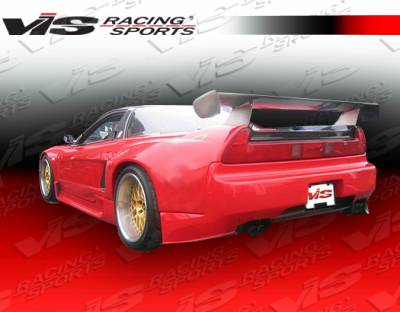 NSX - Rear Bumper - VIS Racing. - Acura NSX VIS Racing FX Widebody Rear Bumper - 91ACNSX2DFXWB-002