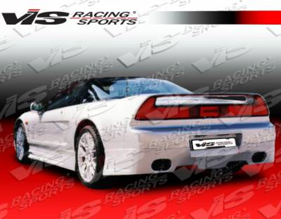 NSX - Rear Bumper - VIS Racing - Acura NSX VIS Racing Techno R Rear Lip - 91ACNSX2DTNR-012