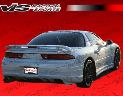 3000GT - Rear Bumper - VIS Racing - Mitsubishi 3000GT VIS Racing Ballistix Rear Bumper - 91MT3K2DBX-002