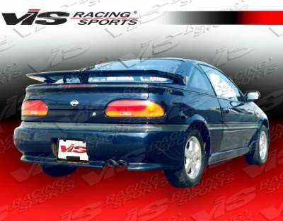 NX - Rear Bumper - VIS Racing - Nissan NX VIS Racing EVO Rear Lip - 91NSNX2DEVO-012