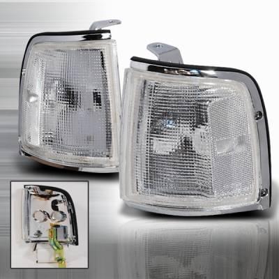 Headlights & Tail Lights - Corner Lights - Custom Disco - Isuzu Rodeo Custom Disco Corner Lights - LC-ROD91-KS