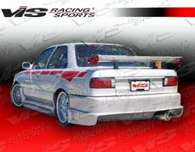 Sentra - Rear Bumper - VIS Racing - Nissan Sentra VIS Racing Striker Rear Bumper - 91NSSEN2DSTR-002
