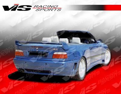 3 Series 4Dr - Rear Bumper - VIS Racing - BMW 3 Series VIS Racing Max Rear Bumper - 92BME362DMAX-002