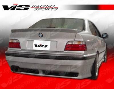 3 Series 4Dr - Rear Bumper - VIS Racing - BMW 3 Series VIS Racing R Tech Rear Bumper - 92BME362DRTH-002