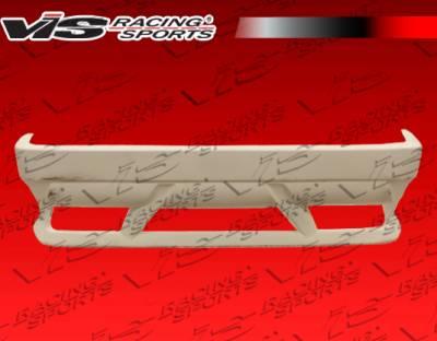 3 Series 4Dr - Rear Bumper - VIS Racing - BMW 3 Series VIS Racing SRS Rear Bumper - 92BME362DSRS-002