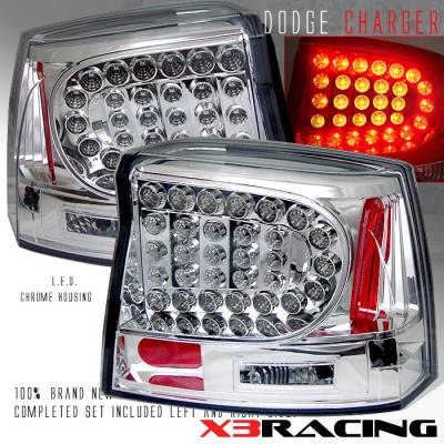 Headlights & Tail Lights - Led Tail Lights - Custom - Chrome LED