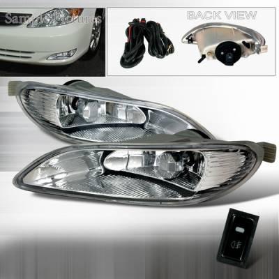 Headlights & Tail Lights - Fog Lights - Custom Disco - Toyota Camry Custom Disco OEM Fog Lights - LF-CAM03OEM