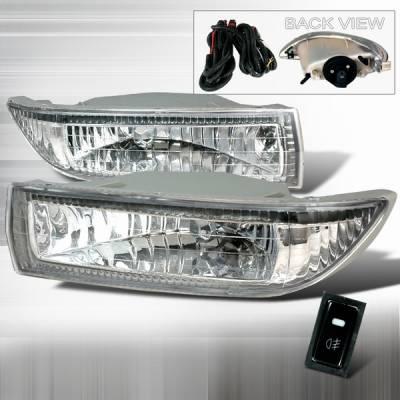 Headlights & Tail Lights - Fog Lights - Custom Disco - Toyota Corolla Custom Disco OEM Fog Lights - LF-COR03OEM