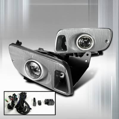 Headlights & Tail Lights - Fog Lights - Custom Disco - Honda Civic 4DR Custom Disco OEM Fog Lights - LF-CV924OEM