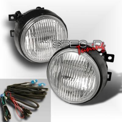Headlights & Tail Lights - Fog Lights - Custom Disco - Honda Civic Custom Disco Clear Round OEM Fog Lights - LF-CV96CRND