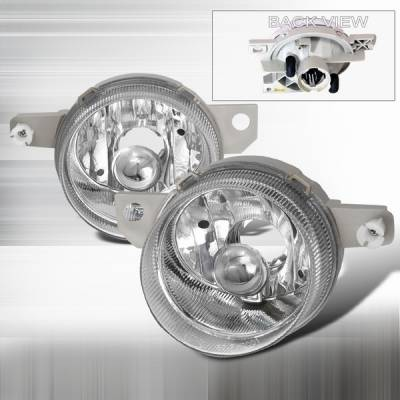 Headlights & Tail Lights - Fog Lights - Custom Disco - Honda Del Sol Custom Disco Chrome Fog Light Kit - LF-DEL93ABM