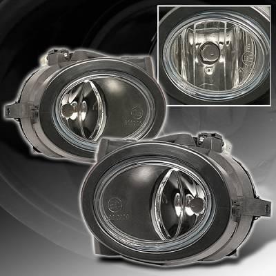 Headlights & Tail Lights - Fog Lights - Custom Disco - BMW 3 Series Custom Disco M3 Fog Lights - LF-E4699M3