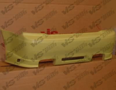 Prelude - Rear Bumper - VIS Racing - Honda Prelude VIS Racing Wings Rear Bumper - 92HDPRE2DWIN-002