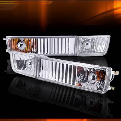 Headlights & Tail Lights - Fog Lights - Custom Disco - Volkswagen Golf Custom Disco Fog Lights & Bumper Lights - LF-GLF-93CABM