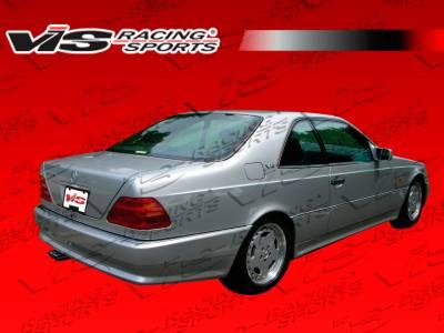 S Class - Rear Bumper - VIS Racing - Mercedes-Benz S Class VIS Racing Euro Tech Rear Bumper - 92MEW1402DET-002