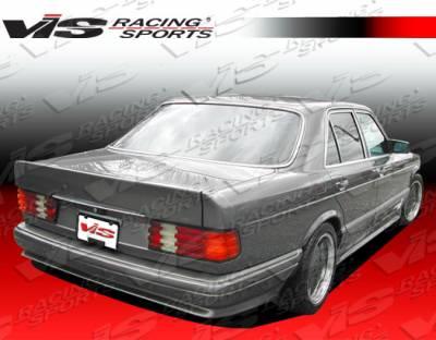 S Class - Rear Bumper - VIS Racing - Mercedes-Benz S Class VIS Racing Euro Tech Rear Bumper - 92MEW1404DET-002