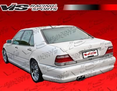 S Class - Rear Bumper - VIS Racing - Mercedes-Benz S Class VIS Racing VIP Rear Bumper - 92MEW1404DVIP-002