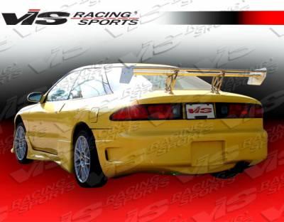Probe - Rear Bumper - VIS Racing - Ford Probe VIS Racing Z max Rear Bumper - 93FDPRO2DZMX-002