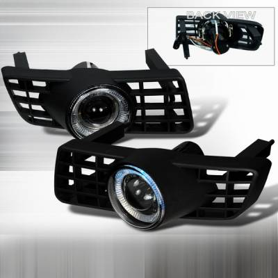 Headlights & Tail Lights - Fog Lights - Custom Disco - Ford Expedition Custom Disco Halo Projector Fog Lights - LF-PEPED03H-TM