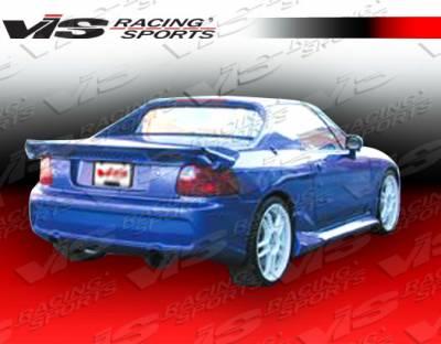 Del Sol - Rear Bumper - VIS Racing - Honda Del Sol VIS Racing Invader-6 Rear Bumper - 93HDDEL2DINV6-002
