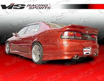 GS - Rear Bumper - VIS Racing - Lexus GS VIS Racing Cyber-1 Rear Bumper - 93LXGS34DCY1-002