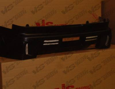 MX6 - Rear Bumper - VIS Racing - Mazda MX6 VIS Racing GT Bomber Rear Bumper - 93MZMX62DGB-002