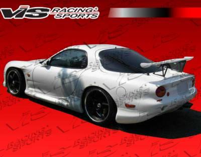 RX7 - Rear Bumper - VIS Racing - Mazda RX-7 VIS Racing 987 Style Rear Bumper - 93MZRX72D987-002