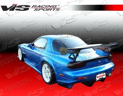 RX7 - Rear Bumper - VIS Racing - Mazda RX-7 VIS Racing Alfa Rear Bumper - 93MZRX72DALF-002